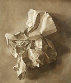 C6374a283ba466a45ccf2c873ea6d56d--crumpled-paper-chiaroscuro