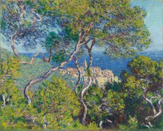 Oil-Bordighera-canvas-Claude-Monet-Art-Institute-1884