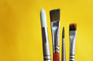 Artists-paint-brushes